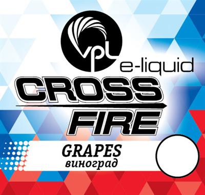 Жидкость VPL Crossfire 30 мл Виноград - фото 5228
