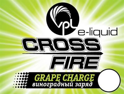 Жидкость VPL Crossfire 30 мл Виноградный заряд - фото 5229