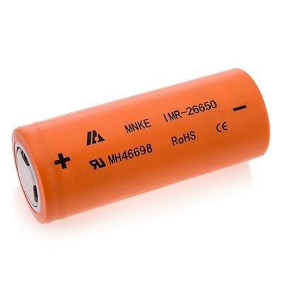 Аккумулятор MNKE IMR-26650 (3500mAh, 40A) - фото 5597