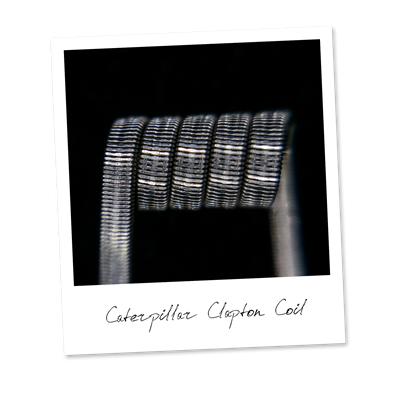 Caterpillar Clapton Coil (SS316,NiCr) - фото 6382