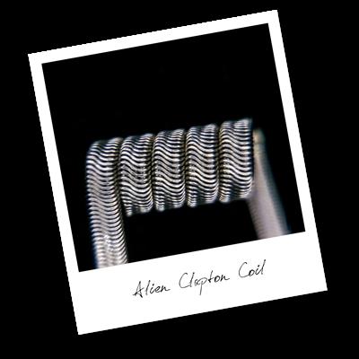 Alien Clapton Coil (Ka,NiCr) - фото 6392