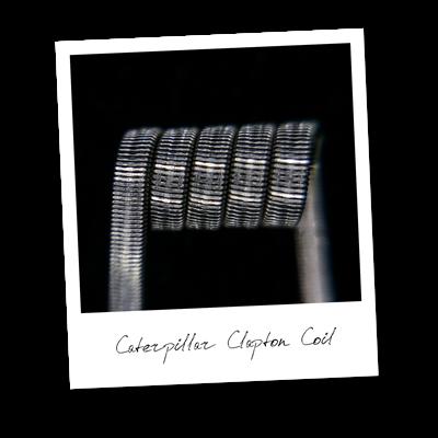 Caterpillar Clapton Coil (NiCr,NiCr) - MTL/RDA/RTA/RDTA/RDCA - фото 6401