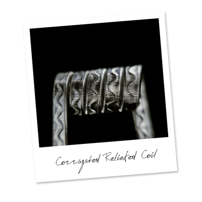 Corrugated Reliefed Coil (NiCr,NiCr) - фото 6405