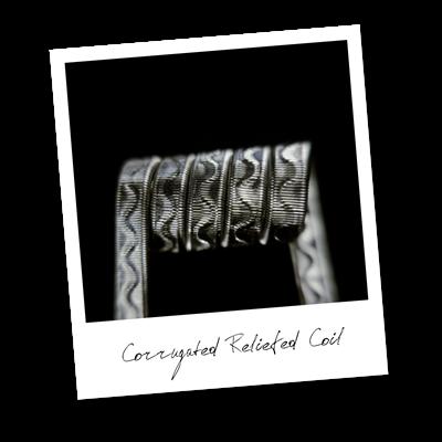 Corrugated Reliefed Coil (NiCr,NiCr) - MTL/RDA/RTA/RDTA/RDCA - фото 6405