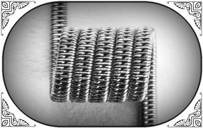 STAGGERED CLAPTON COIL (Ka,NiCr) MTL - фото 6964