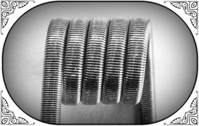 Fused Clapton Coil (Ka,NiCr) - MTL/RDA/RTA/RDTA/RDCA - фото 6974