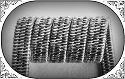 Triple Staggered Clapton Coil (Ka,NiCr) - MTL/RDA/RTA/RDTA/RDCA - фото 6978