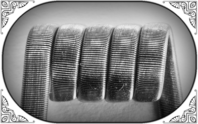 Framed Staple Coil (Ka,NiCr) - MTL/RDA/RTA/RDTA/RDCA - фото 6980