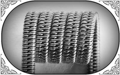 Staggered Clapton Coil (NiCr,NiCr) - MTL/RDA/RTA/RDTA/RDCA - фото 6985