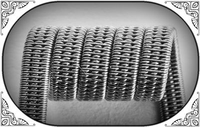 Triple Staggered Clapton Coil (NiCr,NiCr) - MTL/RDA/RTA/RDTA/RDCA - фото 6986