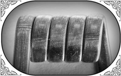 Framed Staple Coil (NiCr,NiCr 05) - MTL/RDA/RTA/RDTA/RDCA - фото 6989