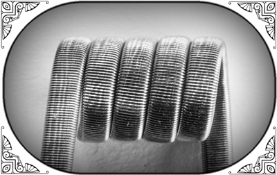 Triple Fused Clapton Coil (SS316,NiCr) - фото 6991