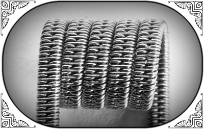 Staggered Clapton Coil (SS316,NiCr) - фото 6993
