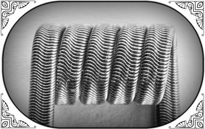 Alien Clapton Coil (NiCr,NiCr 0.3) MTL/RDA/RTA/RDTA/RDCA  - фото 7024