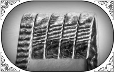 Corrugated Reliefed Coil (NiCr,NiCr 0.3) MTL/RDA/RTA/RDTA/RDCA  - фото 7026