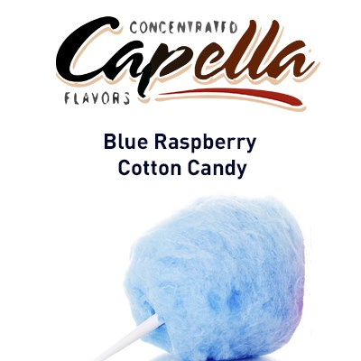Capella Blue Raspberry Cotton Candy - фото 7093
