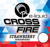 Жидкость VPL Crossfire 30 мл Земляника