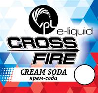 Жидкость VPL Crossfire 30 мл Крем-сода