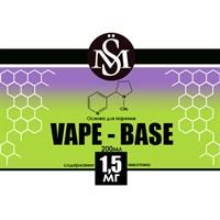Основа Vape Base PG30%/VG70% 0,2 л (Крепость 1,5 мг)