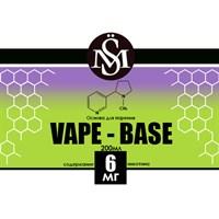 Основа Vape Base PG30%/VG70% 0,2 л (Крепость 6 мг)