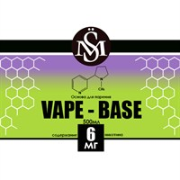 Основа Vape Base PG30%/VG70% 0,5 л (Крепость 6мг)