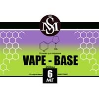 Основа Vape Base PG40%/VG60% 0,2 л (Крепость 6 мг)