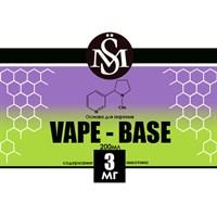Основа Vape Base PG50%/VG50% 0,2 л (Крепость 3 мг)