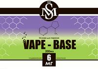 Основа SM Vape-Base 200 мл., 6 мг./мл.