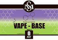 Основа SM Vape-Base 500 мл., 0 мг./мл.
