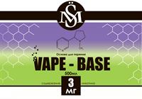 Основа SM Vape-Base 500 мл., 3 мг./мл.