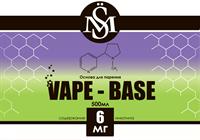 Основа SM Vape-Base 500 мл., 6 мг./мл.
