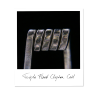 Triple Fused Clapton Coil (SS316,NiCr)