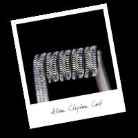 Alien Clapton Coil (NiCr,NiCr)