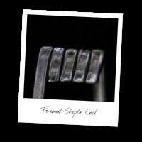 Framed Staple Coil (NiCr,NiCr)