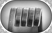 Triple Fused Clapton Coil (Ka,NiCr) - MTL/RDA/RTA/RDTA/RDCA