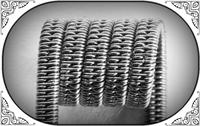 Staggered Clapton Coil (Ka,NiCr) - MTL/RDA/RTA/RDTA/RDCA