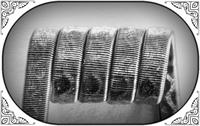 Corrugated Reliefed Coil (Ka,NiCr) - MTL/RDA/RTA/RDTA/RDCA