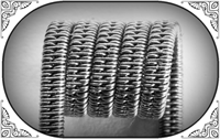 Staggered Clapton Coil (SS316,NiCr)