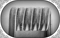 Alien Clapton Coil (NiCr,NiCr 0.3) MTL/RDA/RTA/RDTA/RDCA