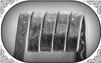 Corrugated Reliefed Coil (NiCr,NiCr 0.3) MTL/RDA/RTA/RDTA/RDCA